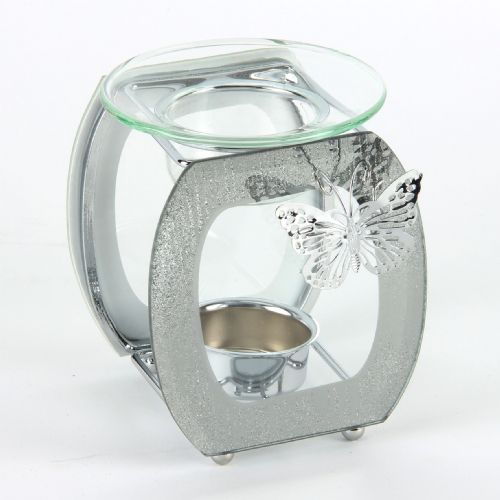 Glass Oil Burner Sophia Butterfly Collection